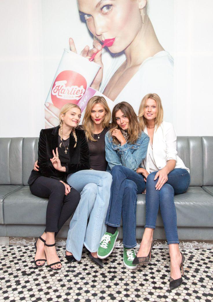 — Lily Donaldson, Karlie Kloss, Andreea Diaconu and...
