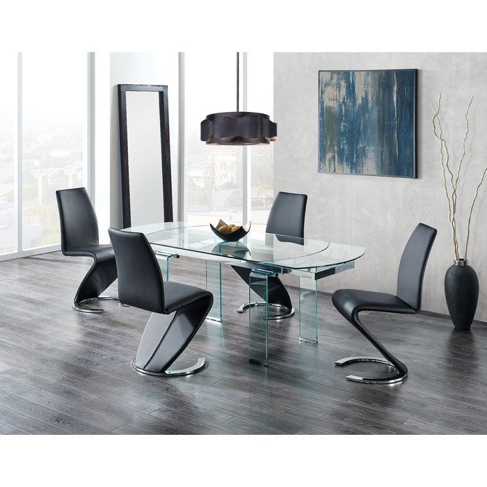 Wilcox Extendable Dining Table Minimalist Dining Room Global Furniture Dining Table