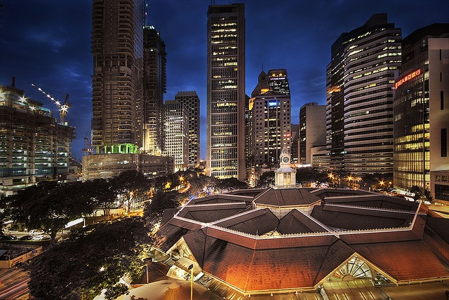 Lau Pa Sat, Singapore   [by williamcho, via Flickr]