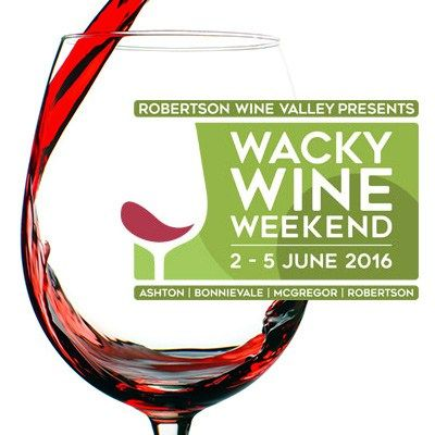 Wacky Wine Festival 2016 - http://www.liferetreat.co.za/event/wacky-wine-festival-2016/  Wacky Wine Weekend 2 - 5 June 2016   Taste the Lifestyle at the 13th annual Wacky Wine Weekend 2 – 5 June proudly hosted by Robertson Wine Valley. Over 40 wineries, boutique wineries and tourist establishments showcase the valley's award winning wines over the four days. Join thousands of wi... Life Retreat | South Africa