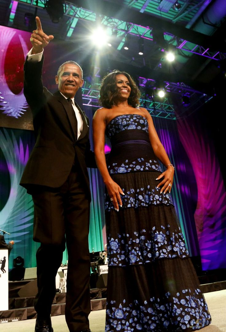 Michelle Obama Stuns in Sheer Couture at the White House Correspondents' Dinner