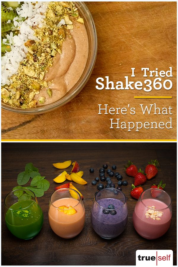 How I Regained Control of My Diet with Shake360
