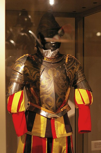 Armour for a member of the Papal Guard  I570