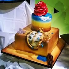 salvador dali cake - Google Search