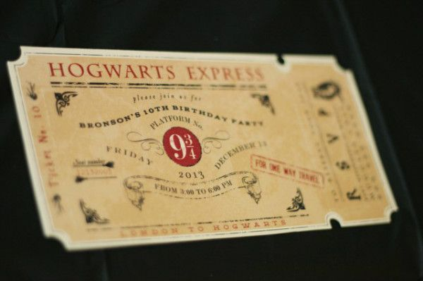 Вечеринка в стиле Гарри Поттера: творим волшебство своими руками!