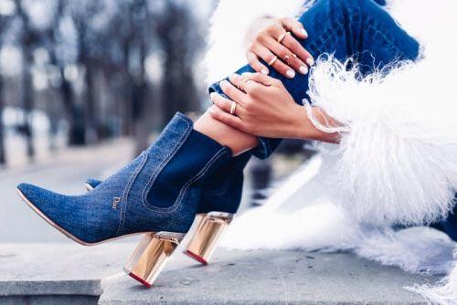 TheyAllHateUs | Dior Denim Boots