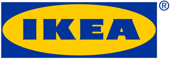 It's no accident that the IKEA logo is blue and yellow. These are the colors of the Swedish flag!