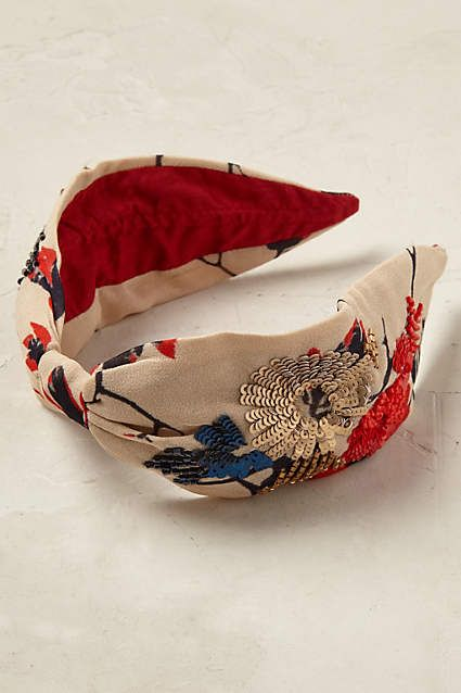 Anthropologie EU Amandine Turban Headband.