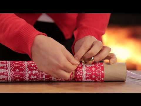▶ Christmas crafts: How to make Christmas crackers - YouTube