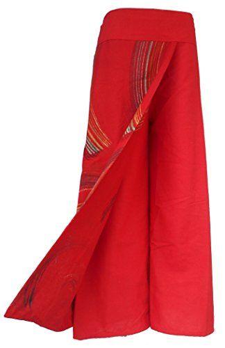 Bonya Women's Boho Cotton Casual Palazzo Pants - (Red1) Bonya Collections http://www.amazon.com/dp/B015M1LTQU/ref=cm_sw_r_pi_dp_q.PLwb1S3CYW4