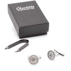NEW Charlotte 21 First Cuff Links.