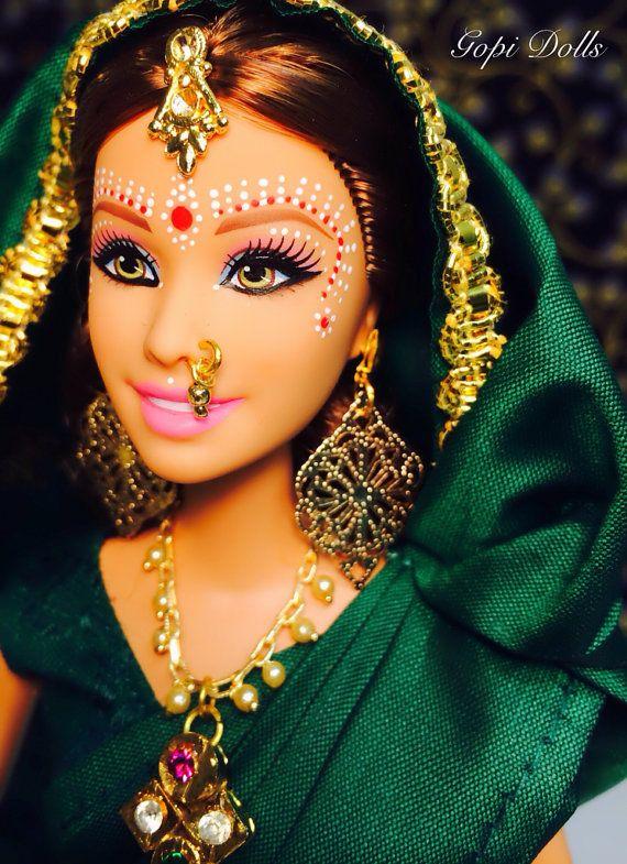 OOAK Barbie  Gopi Doll  Labanga Gopi by GopiDesigns on Etsy, $65.00