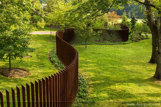 Archer & Buchanan's Cattail Fence Wins Design Award