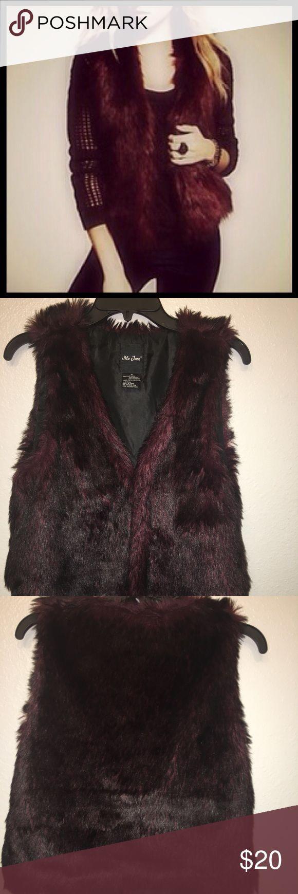 Fur Vest Super sexy fur vest Me Jnae  Tops