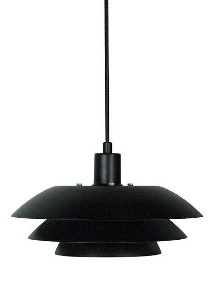 DL31 Pendant matt black  AUENS SKIEN