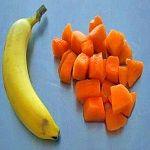 Meloen-banaanpuree - Koken voor mijn baby