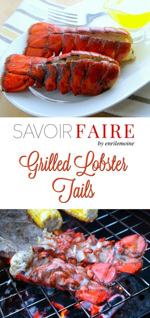 Grilled lobster tails are perfect for any occasion and are so easy to make even for those with no experience grilling shellfish!