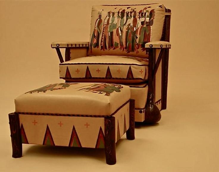 Custom Painted Molesworth Style Chair By Chris Galusha