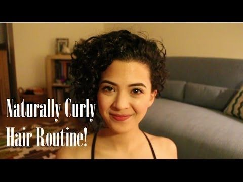 Get Ready With Me: Naturally Curly Hair Routine - YouTube