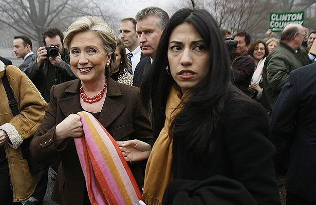 HUMA ABEDIN IS HILLARY CLINTONS PERSONAL SECRETARY. HER IMMEDIATE FAMILY ARE MEMBERS OF THE MUSLIM BROTHERHOOD AND AL QAEDA. State Dept Fighting AP Calls to open hillary clinton/huma abedin records 12-11-14 by DG
