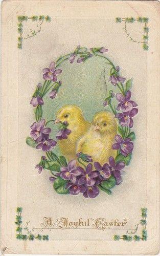 Antique Easter Holiday Springtime 1900s Old Artist Holiday Postcard | eBay