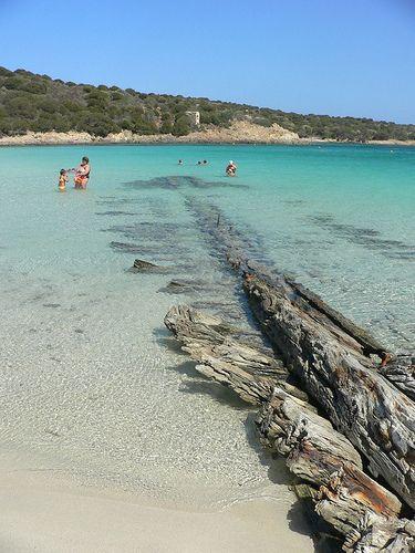 Sardegna - isola di caprera #Sardinia Spiaggia del Relitto