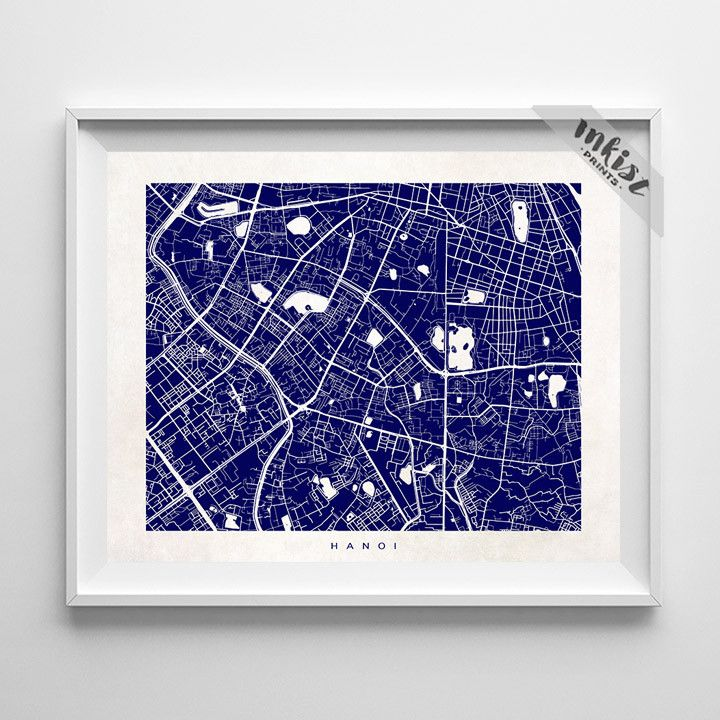 Chile Location On World Map%0A Hanoi Street Map Print