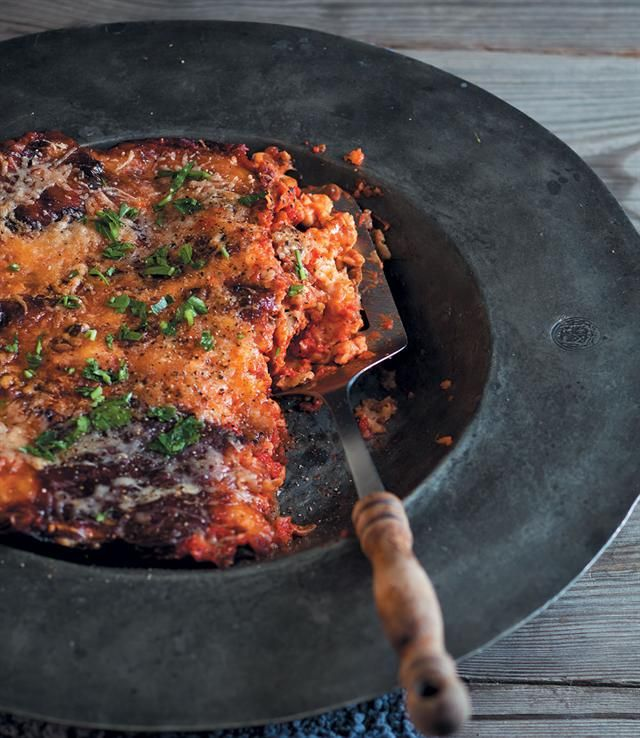 Sweet potato parmigiana  #rooirose