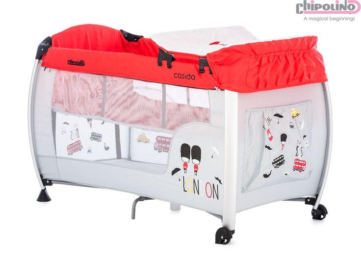 Chipolino Casida Red Oyun Parkı #bebek #alışveriş #indirim #trendylodi #bebekodası #mobilya #dekorasyon #evdekorasyon #anne #baba