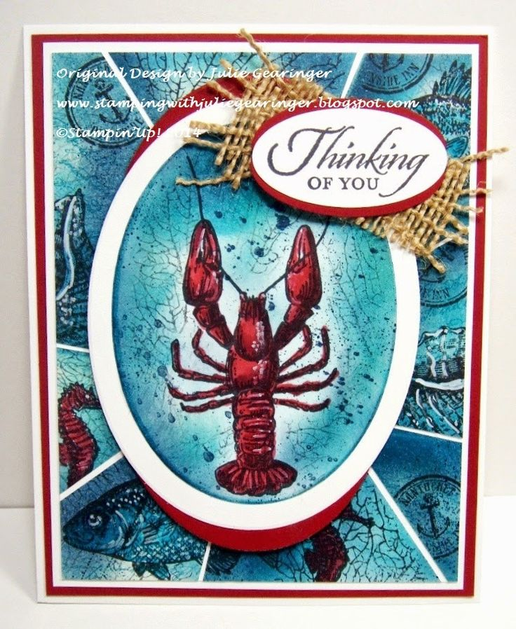 Stamping with Julie Gearinger: SUO99 Thinking of You