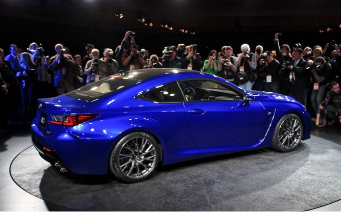 2015 Lexus RC F Coupe is officially revealed! Hit the image for full details, live photos and video...