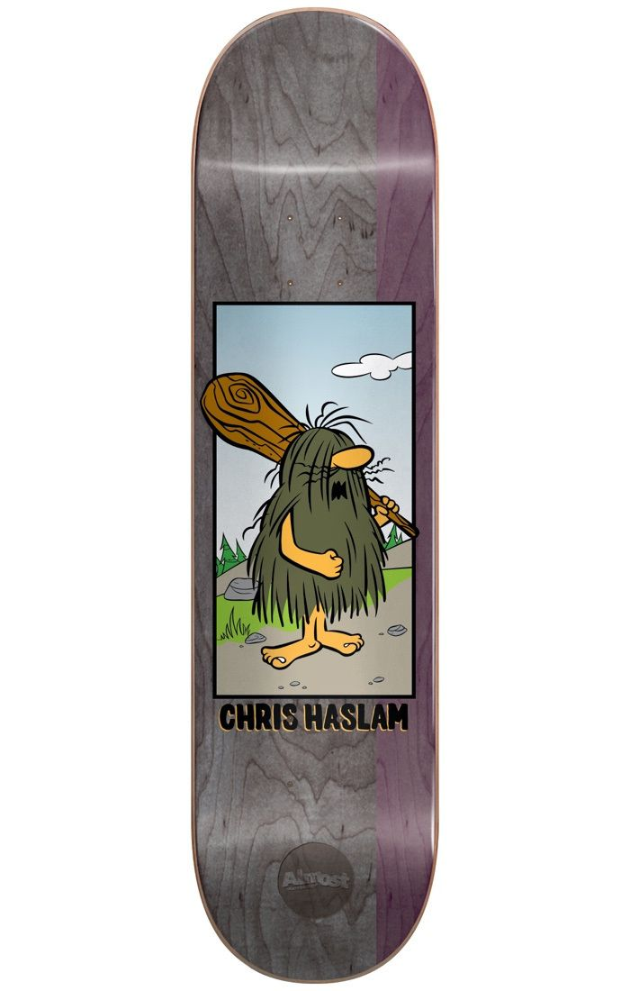 #Almost Skateboards Almost Captain Caveman R7 Skateboard Deck - #Almost and Hanna-Barbera have joined forces in an eye-popping spinoff to help skaters, young and old, relive their youth! With their colourful, stained background and clean-cut graphic, iconic cartoons from the 90s are brought back to life so that you can skate together with your favourite characters! Afterall, like skating, who doesnt love cartoons?!Skateboarding has evolved so much over the years however it never hurts to…