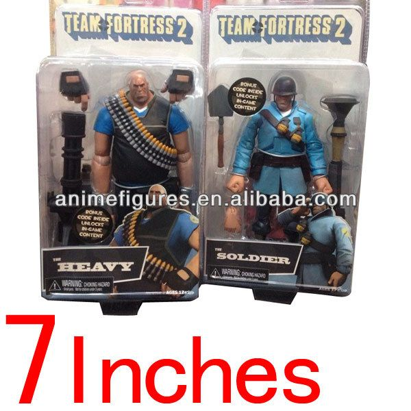 Neca Team Fortress 2 ( Heavy and Soldier) $0.1~$100