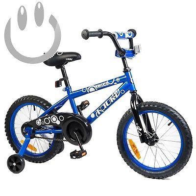 Tauki Kid Bike BMX for Boys and Girls, 12 Inch, 16 Inch,95% assembled, 2-5...4  Color - Blue, Size - 12 INCH, UPC - NA, EAN - NA