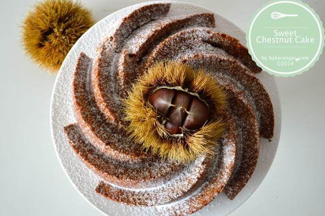 Sweet Chestnut Cake by bakerangel.com