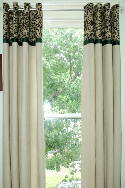 Curtains Ideas curtain grommets diy : 78 Best images about Curtains on Pinterest | UX/UI Designer ...