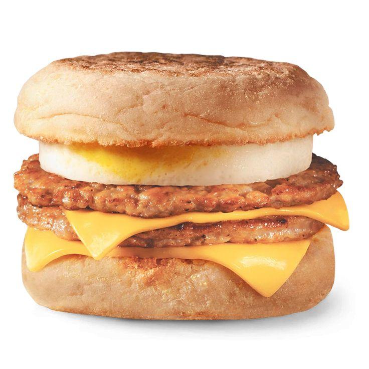 Double egg McMuffin with pork chop - Двойной МакМаффин™ с яйцом и свиной котлетой