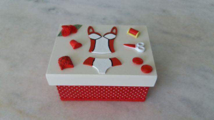 Caixa de costura - www.elo7.com.br/esterartes