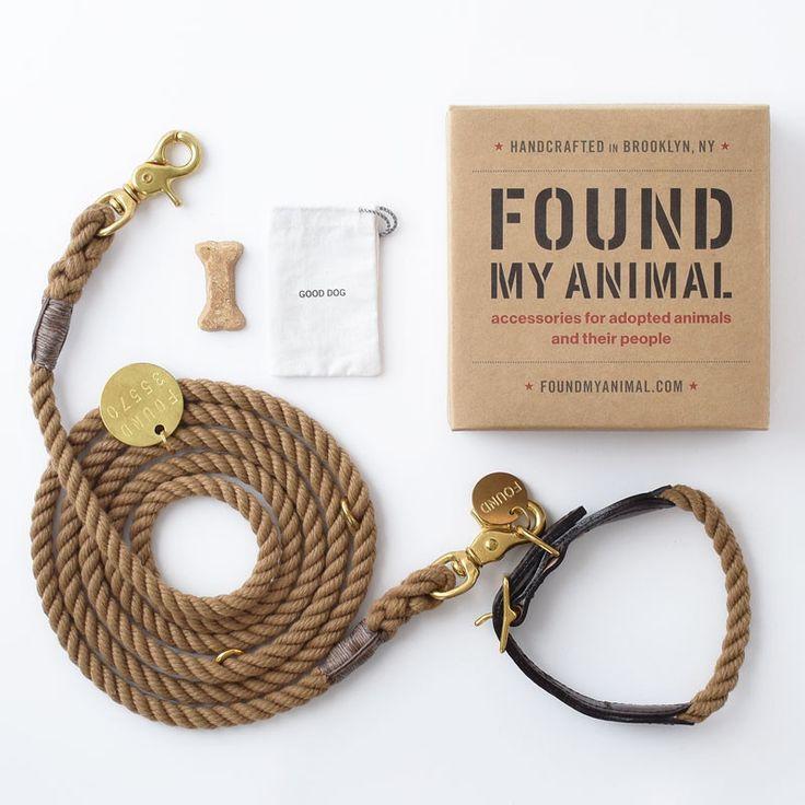 Natural Adjustable Rope Leash