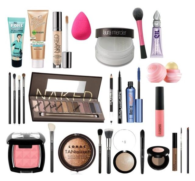 """""""my 8th grade graduation makeup♡"""" by ahoitt ❤ liked on Polyvore featuring beauty, Sephora Collection, Laura Mercier, Benefit, Urban Decay, Maybelline, NYX, LORAC, Anastasia and MAC Cosmetics"""