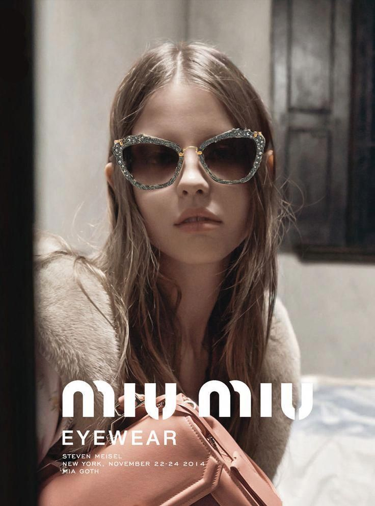 94941f32646 Mia Goth Imogen Poots Marine Vacth by Steven Meisel for Miu Miu Spring  Summer 2015 2  MiuMiu