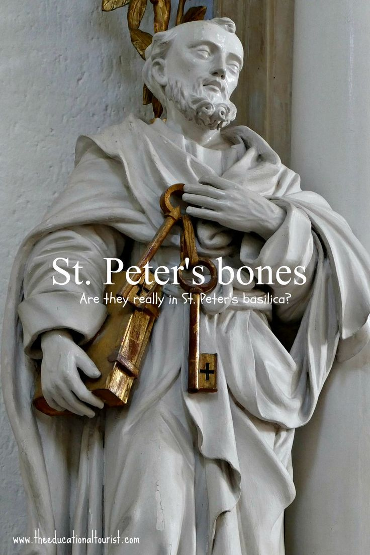 Are St. Peter's bones really in the Vatican? Visit with the kids!
