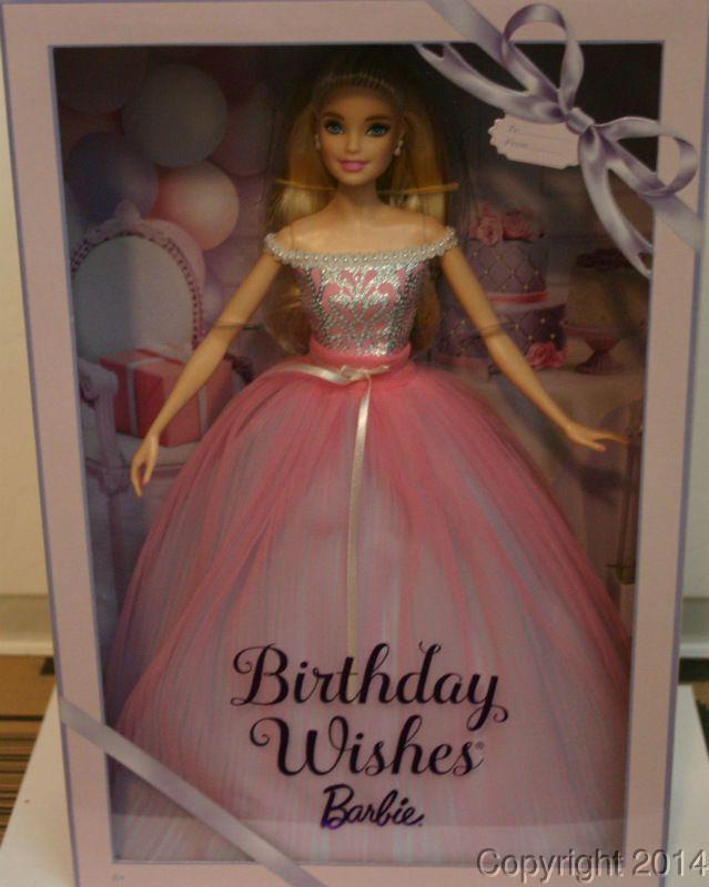 2017 birthday wishes barbie doll dvp49 in stock now mattel dolls