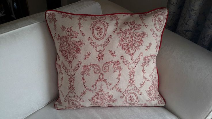 Scatter Cushion Cover Red&Neutral - Designer Decorative Throw-Aussie Made