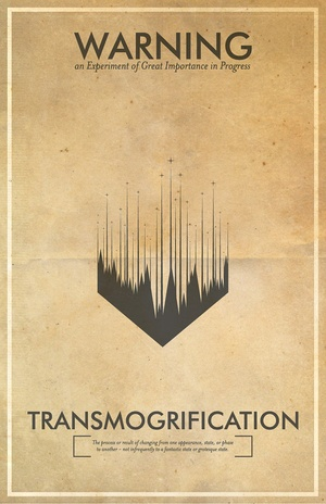 Fringe science-inspired posters should be hanging in Walter Bishop's lab