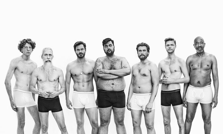 "This New Ad Campaign Shows Us What The ""Perfect"" Man Really Looks Like"