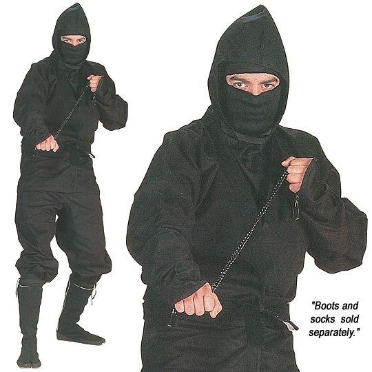 Only the best for the best man!  Ninja Uniform - High Quality Ninja Wear - Medium