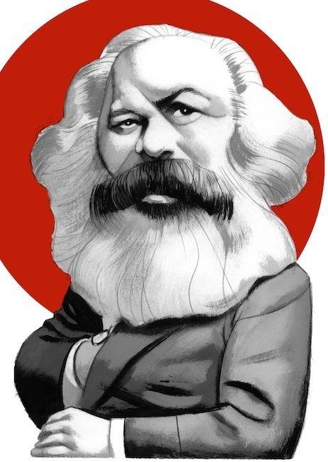 """Ilustrações de Fernando Vicente Para o """"Manifesto Comunista"""" de Karl Marx"""