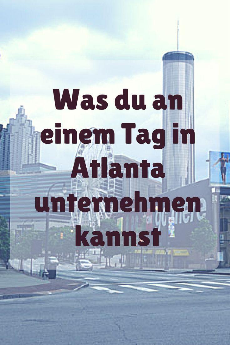 """Atlanta ist eine typische amerikanische Großstadt. Schon von Weitem ist die Skyline von Downtown sichtbar. Das Wetter in Atlanta ist oft sehr heiß und schwül. Daher wird die Stadt auch oft """"Hotlanta"""" genannt. Selbst im Mai war es relativ schwül und warm. Wenn du wie wir nur einen kurzen Aufenthalt in Atlanta planst, kommen hier meine Tipps, was du an einen Tag in Atlanta unternehmen kannst."""