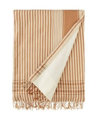 72% OFF Mili Design Kenyan Towel, Beige